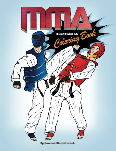 9781937981600: MMA Coloring Book; Mixed Martial Arts Coloring Book