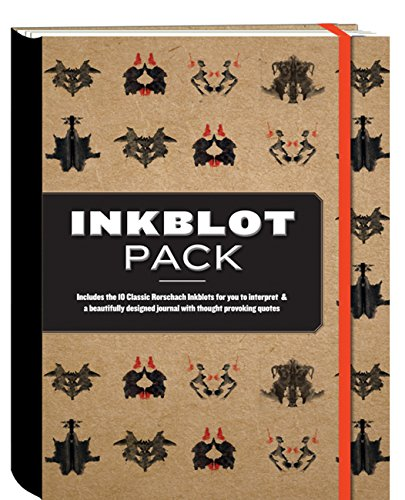 9781937994464: The Inkblot Pack: Includes the 10 Classic Rorschach Inkblots for You to Interpret & a Beautifully Designed Journal With Thought Provoking Quotes