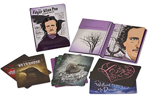 9781937994570: The Edgar Allan Poe Keepsake Journal: Includes 10 Illustrated Quote Cards