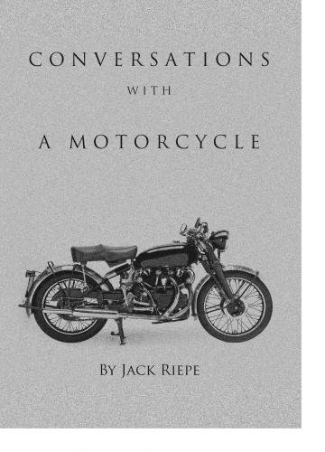 9781938022272: Conversations With A Motorcycle