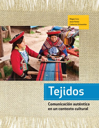 Tejidos (Spanish Edition) Softcover: Megan Cory; Janet Parker; Catherine Schwenkler