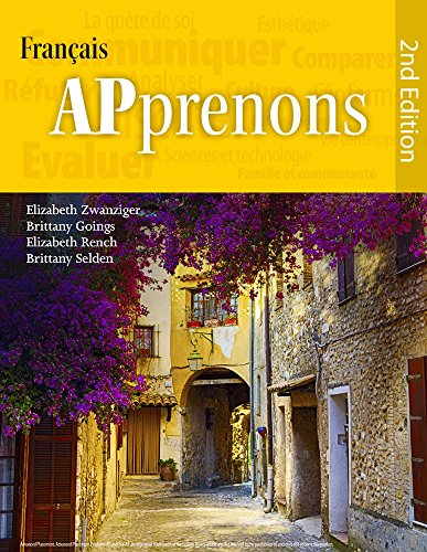 9781938026874: APprenons, 2nd Edition Hardcover (French Edition)
