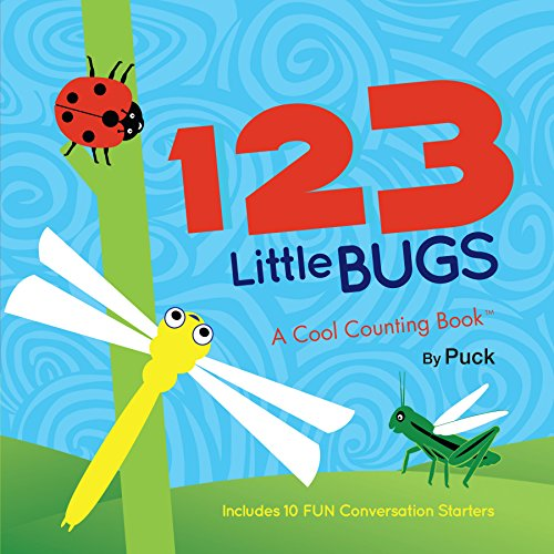 123 Little Bugs: A Cool Counting Book (Cool Counting Books): Puck