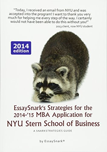 nyu mba application essays