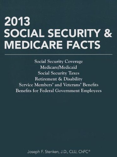 9781938130724: 2013 Social Security & Medicare Facts