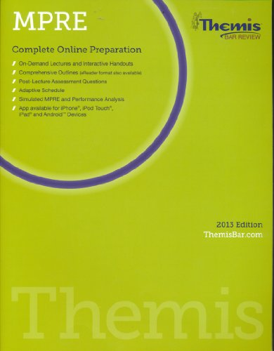 9781938238260: Themis Bar Review: MPRE Complete Online Preparation