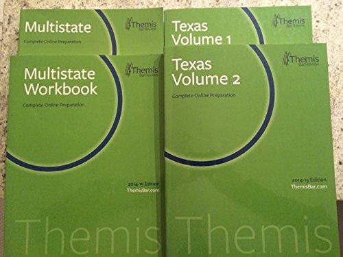 Themis Texas Complete Online Preparation 2014-15 Volume 1 & 2