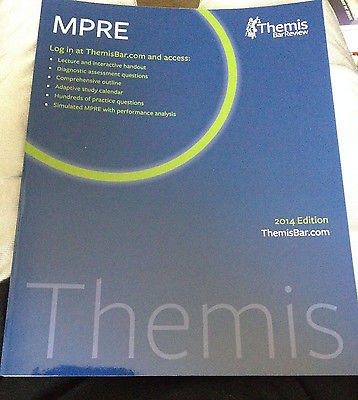 9781938238796: Themis Bar Review MPRE 2014 Edition