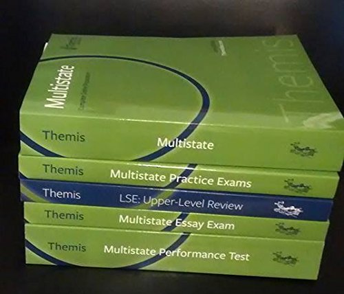 9781938238833: 2015 Multistate Themis Bar Review 4-book Set