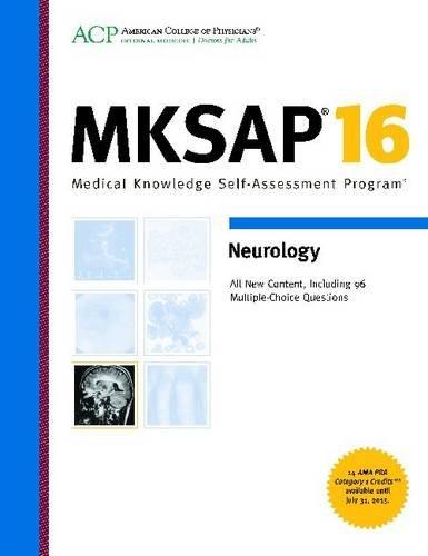 9781938245053: MKSAP 16: Neurology