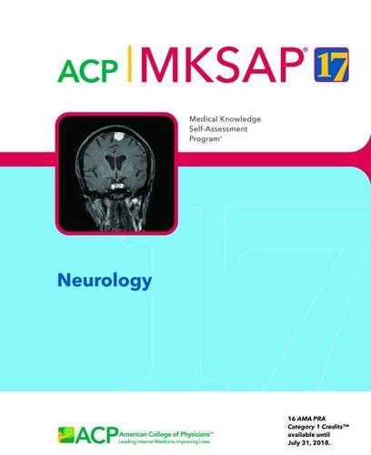 9781938245237: MKSAP (R) 17 Neurology