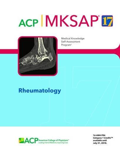 MKSAP 17 Rheumatology