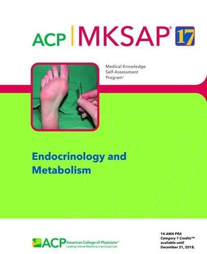 MKSAP 17 Endocrinology and Metabolism (Paperback)