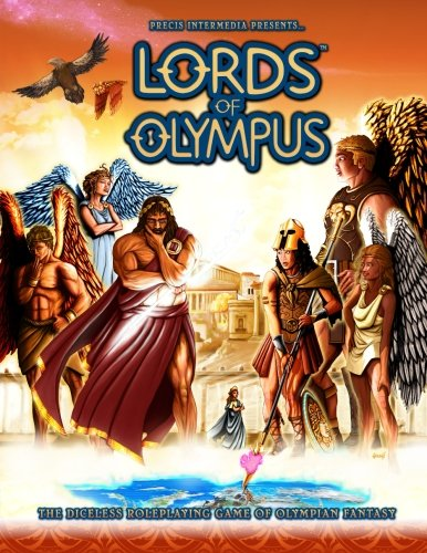 9781938270079: Lords of Olympus: The Diceless Roleplaying Game of Olympian Fantasy