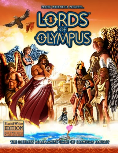 9781938270086: Lords of Olympus (B&W): The Diceless Roleplaying Game of Olympian Fantasy