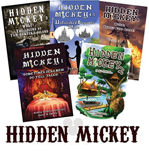 9781938319099: Set of 4 HIDDEN MICKEY Signed Paperback novels about Walt Disney and Disneyland