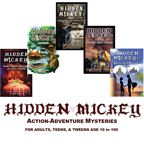 9781938319235: Set of 5 HIDDEN MICKEY - FIRST HARDCOVER COLLECTOR EDITION novels about Walt Disney and Disneyland