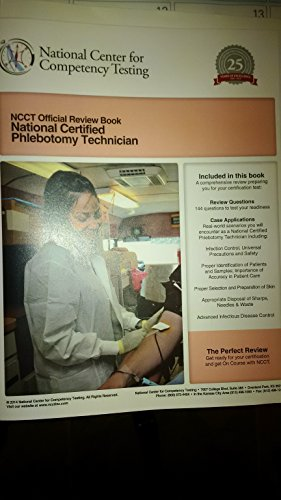 9781938354014: NCCT Official Review Book, National Certified Phlebotomy Technician