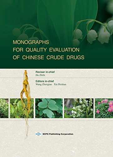 9781938368196: Monographs for Quality Evaluation of Chinese Crude Drugs