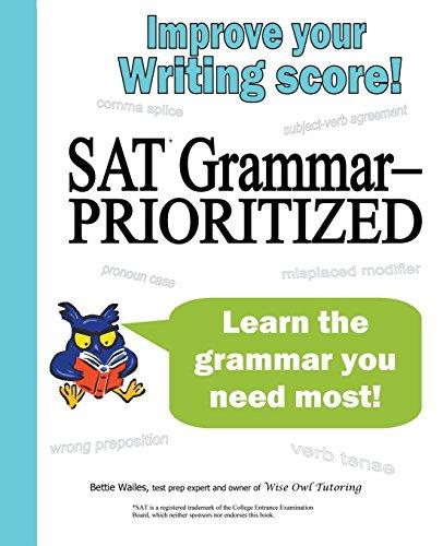 9781938464010: SAT Grammar--Prioritized