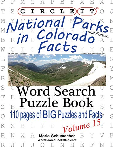 Circle It, National Parks and Forests in Colorado Facts, Word Search, Puzzle Book: Lowry Global ...