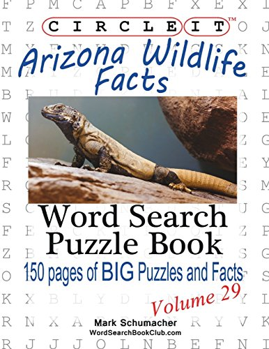9781938625473: Circle It, Arizona Wildlife Facts, Word Search, Puzzle Book