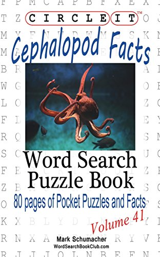 9781938625596: Circle It, Cephalopod Facts, Word Search, Puzzle Book