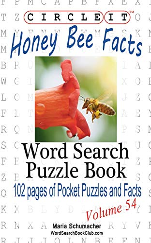 9781938625732: Circle It, Honey Bee Facts, Word Search, Puzzle Book