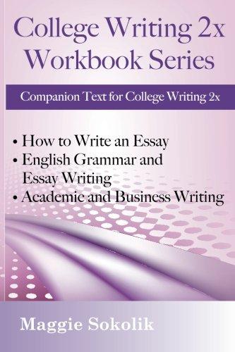 9781938757174: College Writing 2x: Workbook Series