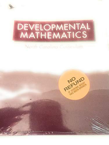 9781938891397: NC Developmental Math (W/eBook Software & Supplements)