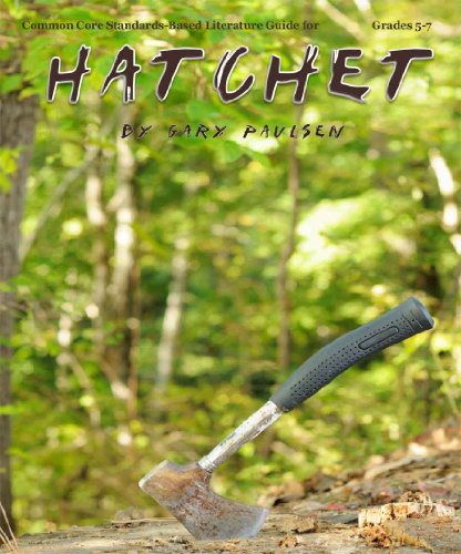 9781938913549: Hatchet Literature Guide (Secondary Solutions)