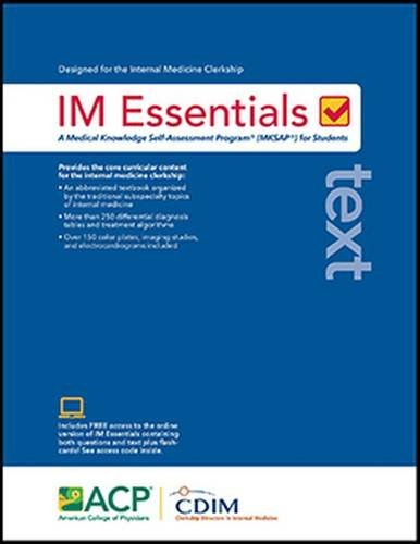 IM Essentials Text: The American College of Physicians