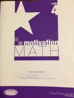 9781938935657: Motivation Math Level 4