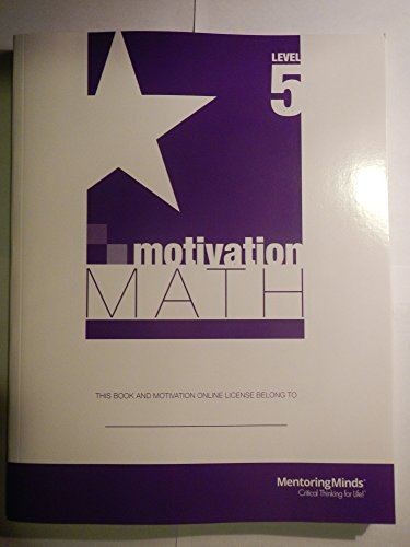 Staar Motivation Math Level 5 - Student: Developed by Michael