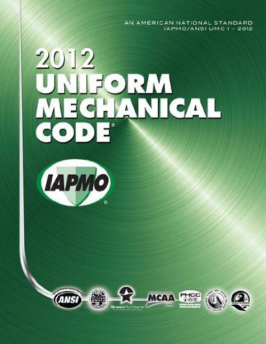 9781938936197: 2012 Uniform Mechanical Code