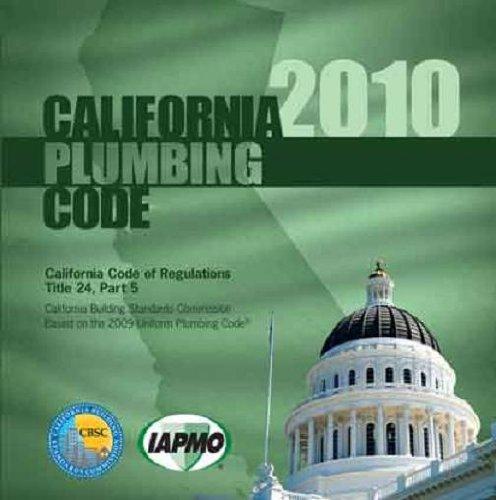 9781938936234: 2010 California Plumbing Code
