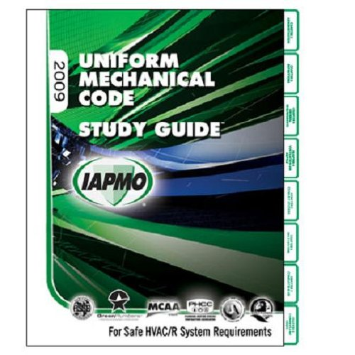 2009 Uniform Mechanical Code Study Guide: International Association of Plumbing and Mechanical ...