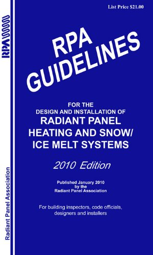 9781938936357: Radiant Professionals Alliance Guidelines 2010