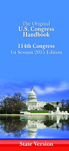 US Congress Handbook: 2015 (US Congress Handbook (State Edition))