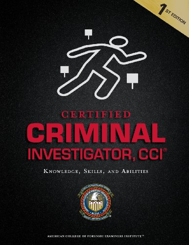 9781939021038: Certified Criminal Investigator, CCI
