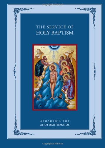 9781939028037: The Service of Holy Baptism