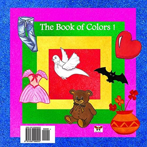 9781939099525: The Book of Colors! (Pre-school Series) (Bi-lingual Persian/Farsi and English Edition)