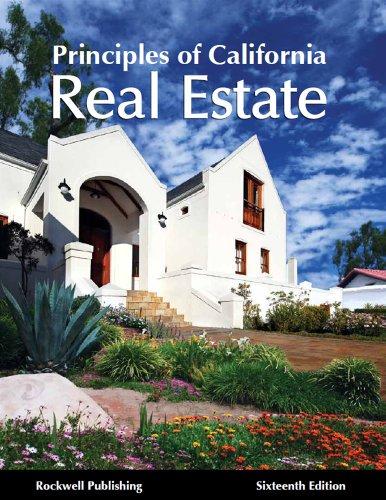 9781939259134: Principles of California Real Estate - 16th edition