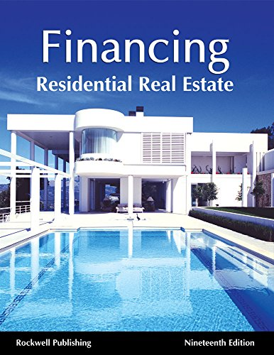 Real Estate Finance : Real estate finance th ed by rockwell publishing meagan