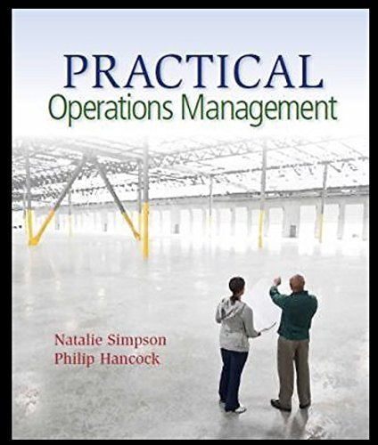 9781939297006: Practical Operations Management