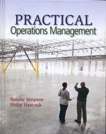 Practical Operations Management: Natalie Simpson, Philip