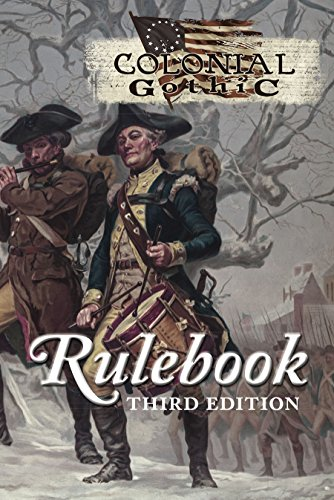 Colonial Gothic: Rulebook 3rd Edition (RGG6001)q: Rogue Games