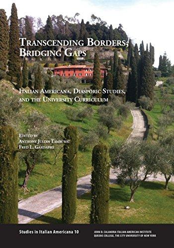 9781939323064: Transcending Borders, Bridging Gaps: Italian Americana, Diasporic Studies, and the University Curriculum
