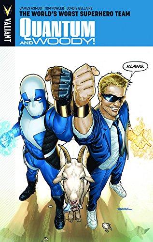 9781939346186: Quantum and Woody Volume 1: The World's Worst Superhero Team