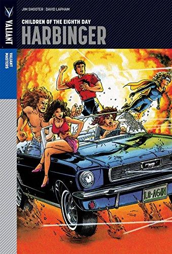Valiant Masters: Harbinger Volume 1 - Children of the Eighth Day (Hardcover): Jim Shooter